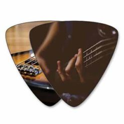 Custom Bass Picks - Double Sided Print