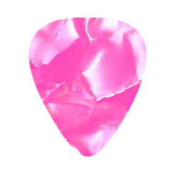 Custom Vintage Guitar Picks - Pink