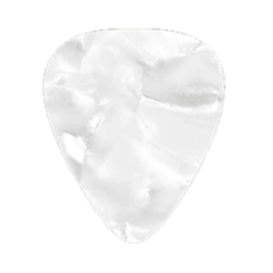 Custom Vintage Guitar Picks - White