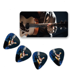 Guitar Picks in Tin